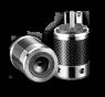 Furutech   FI-50M(Rhodium)   Shielded US Mains Plug