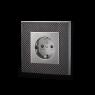 Furutech | FT-SWS(Rhodium) NCF | Schuko Outlet
