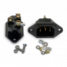 IeGo   Copper - gold plated   IEC Inlet