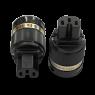 IeGo   8055BK & CT Pure copper   IEC Plug