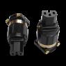 IeGo | Ti2020BK Gold plated | IEC Plug