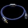 Telos Audio Design   Quantum Active Cable   Power Blue