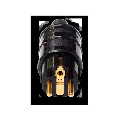 Kemp Elektroniks | Gold plated | Schuko Plug