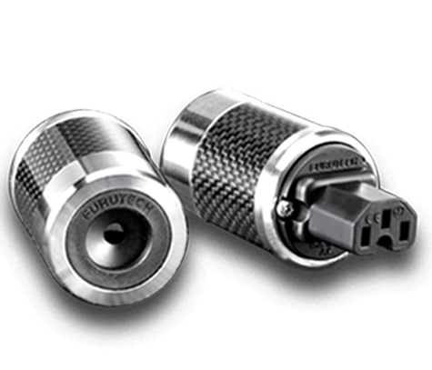Furutech | FI-50(Rhodium) | Shielded IEC Plug