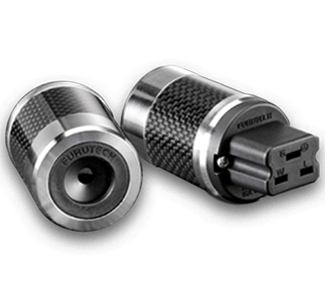 Furutech | FI-52(Rhodium) | Shielded 20 A IEC Plug