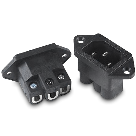 Furutech | FI-09(Rhodium) | IEC Inlet