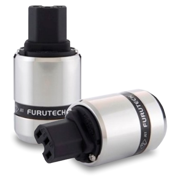 Furutech | FI-48(Rhodium) | Shielded IEC Plug