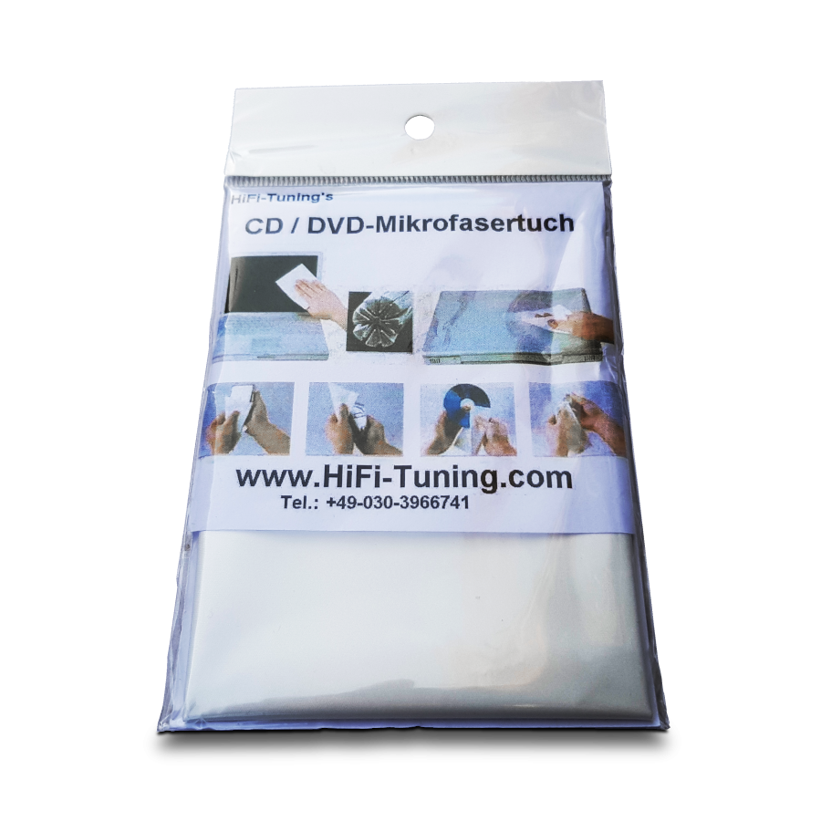 HiFi-Tuning | CD/DVD Ultimate Micro Fibre Cloth