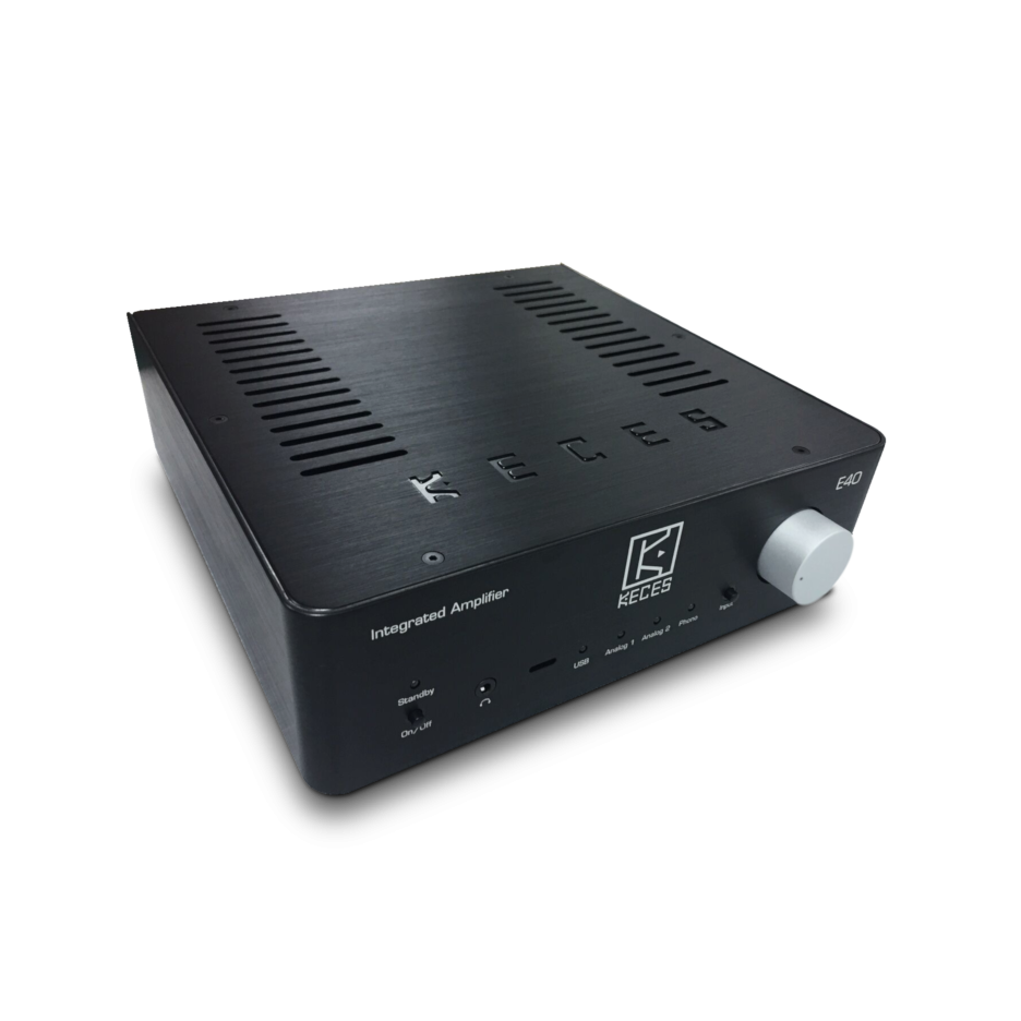 Keces Audio | E40 Integrated amplifier with phono stage