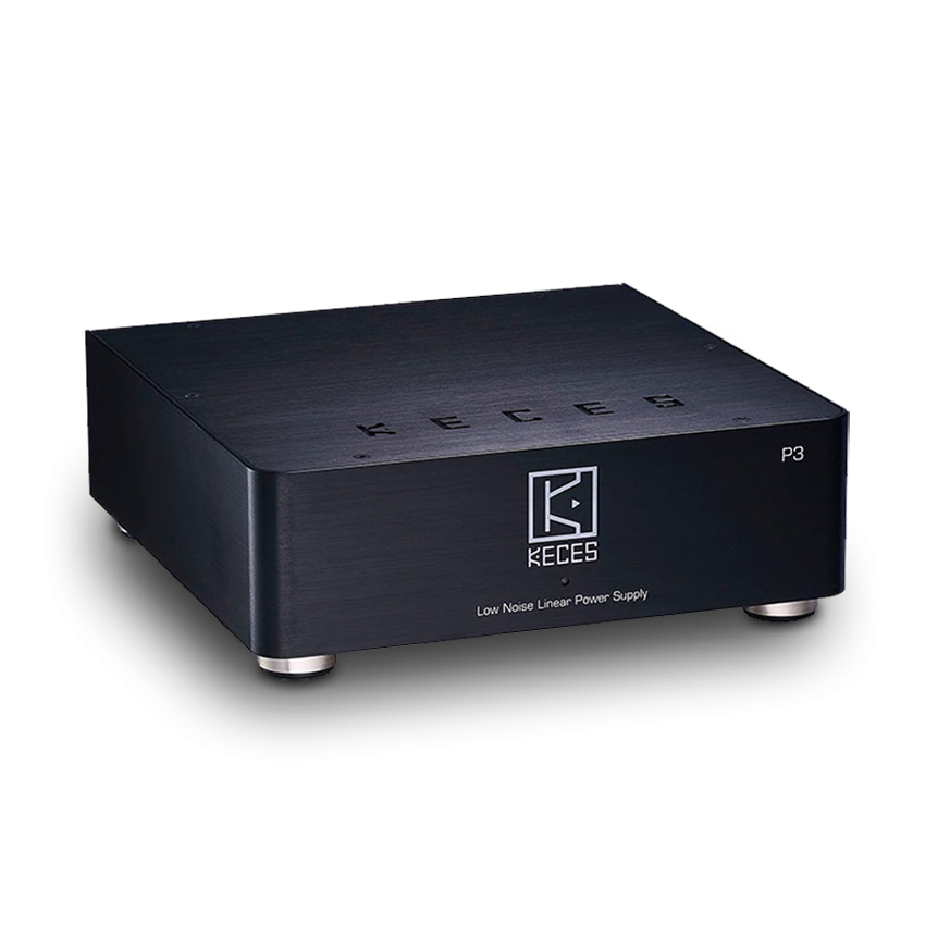 Keces Audio   P3 Ultra Low Noise    Twin Linear Power Supply