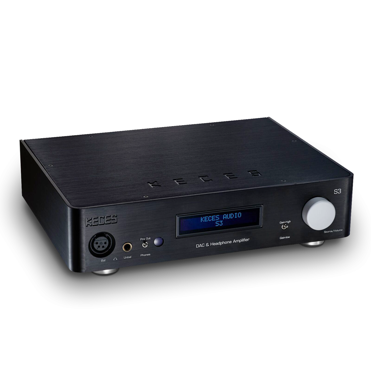 Keces Audio S3 Dac Preamplifier Headphone Amplifier