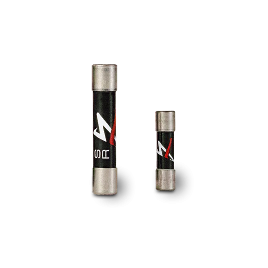 Synergistic Research | Black Fuse | 5x20 & 6.3x32 mm