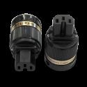 IeGo | 8095BK&CT Massive Silver | IEC Plug