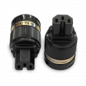 IeGo   8075BK Rhodium plated   IEC Plug