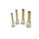 WBT Cable End Sleeves, with insulation collar | 24K Gold plated