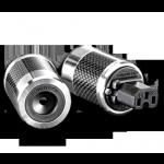 Furutech   FI-50(Rhodium)   Shielded IEC Plug