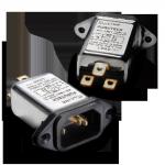 Furutech   AC-1501 Gold   EMI Filtered IEC Inlet