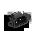 Furutech | Gold plated | IEC Inlet