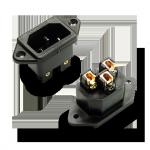 Furutech | FI-10(Gold) | IEC Inlet