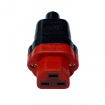 HB-Design   IEC 320/C21 Plug   Gold plated contacts