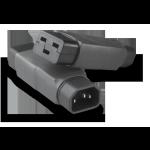 IEC 320/C14->C19 | Adapter