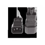 IEC 320/C14->C5 | Adapter