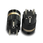IeGo | 8095BK & CT Pure Silver | Schuko Plug