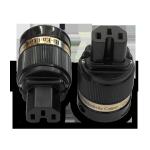 IeGo | 8085 BK Gold plated | IEC Plug