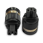 IeGo | 8065 BK & CT Silver plated | IEC Plug