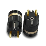 IeGo | 8085BK & CT Gold plated | Schuko Plug