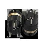 IeGo | 8075 BK Rhodium plated | Schuko Plug