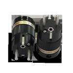 IeGo | 8065BK & CT Silver plated | Schuko Plug