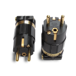 IeGo0   Ti2420BK Gold plated   Schuko Plug