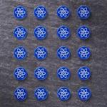 Telos Audio Design | Rare Earth Elem. Stickers | Round 5 & Square 6 mm