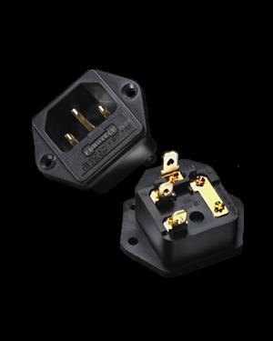 Furutech | FI-03(Gold) | Fused IEC Inlet