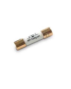 HiFi-Tuning | Gold² UK Mains Plug Fuse | 6.3x25 mm