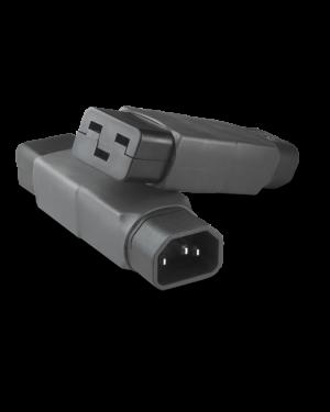 IEC 320/C14 -> C19 | Adapter