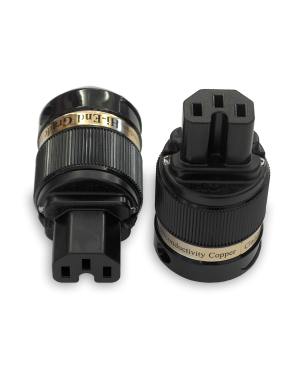 IeGo | 8085BK & CT Gold plated | IEC Plug