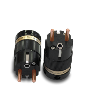 IeGo | 8055BK & CT Pure copper | Schuko Plug