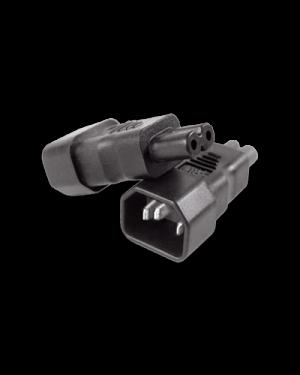 IEC 320/C14 -> C7 | Adapter