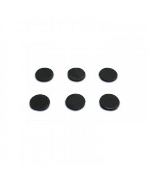 Marigo Audio Lab | Micro Tuning Dots | 6 mm Black, 6 pieces