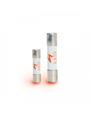 Synergistic Research | Orange Fuses | 5x20 mm & 6.3x32 mm