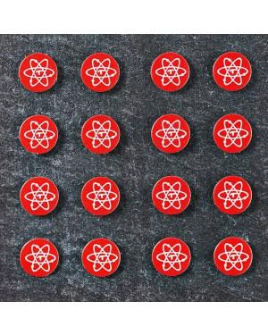 Telos Audio Design | Quantum Stickers | Round 5 & Square 6 mm