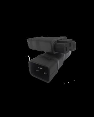 IEC 320/C20 -> C13 | Adapter