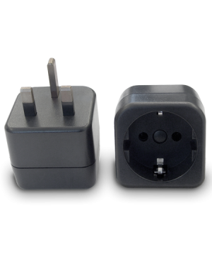 European plug to British plug | Adapter