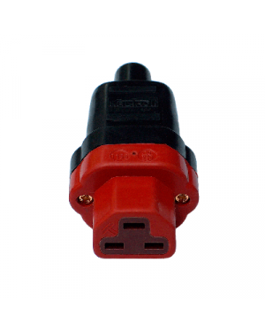 HB-Design | IEC 320/C21 Plug | Gold plated contacts