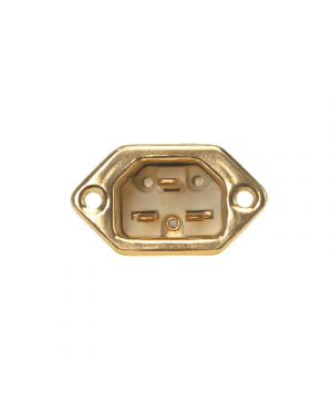 HB-Design | IEC 320/C22 Inlet | Gold plated