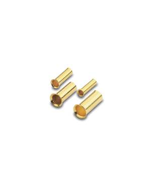 HiFi-Tuning | Silver -> Gold plated | Cable End Sleeves