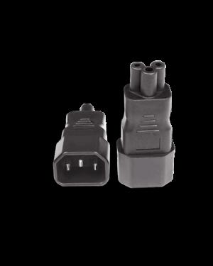 IEC 320/C14 -> C5 | Adapter