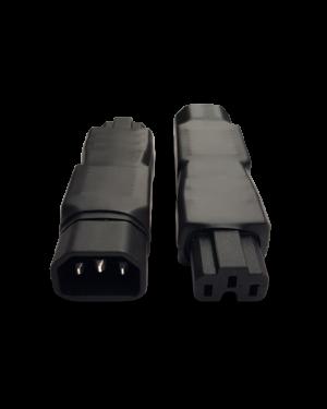 IEC 320/C14 -> C13 | Adapter